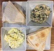 Feta and Hummus