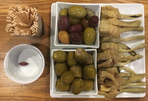 Olives & Artichokes
