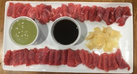 Tuna Belly Sashimi